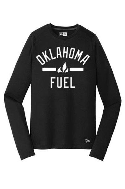 4518 - Oklahoma Fuel - New Era Long Sleeve Performance - 3 Colors Available