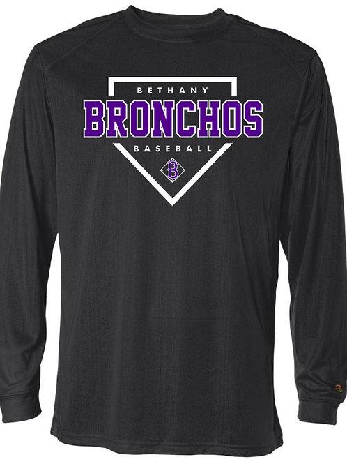 7010. Bronchos Plate - Drifit Long Sleeve