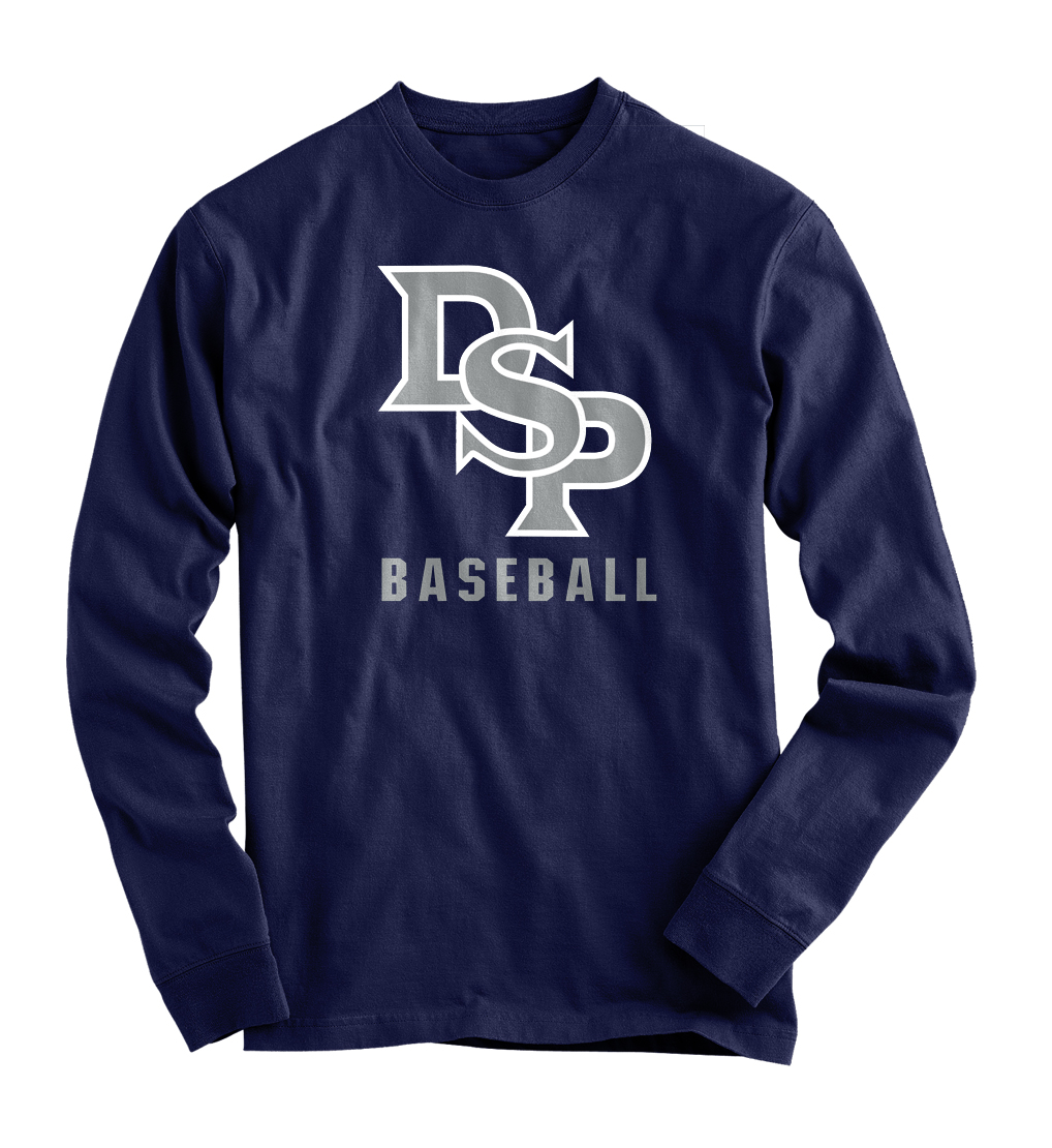 DSP Navy T Long Sleeve