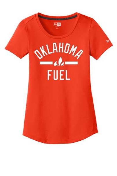 4520 - Ladies Oklahoma Fuel - New Era Short Sleeve Performance - 4 Colors Avail