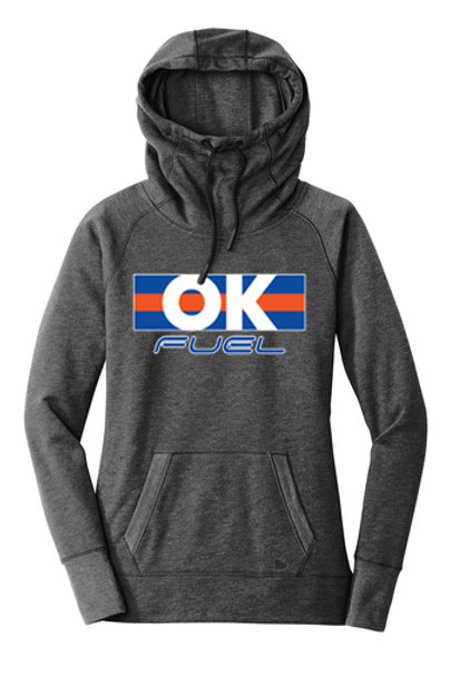 5041. - Ladies OK Fuel Stripes - New Era Hoodie - 3 Colors Available