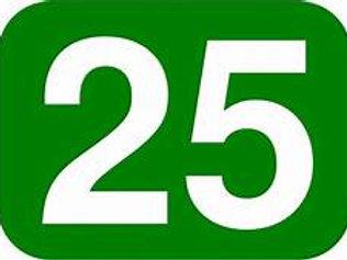 $25-Baseball Donation