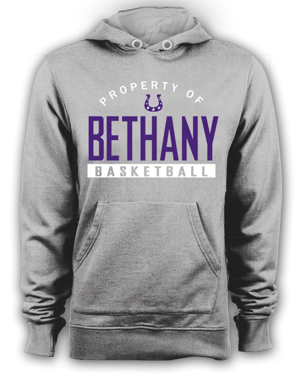 Beth Basketball Hoodie-Gray