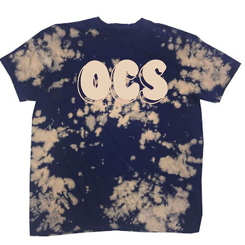 2810. OCS Bubble Tie Dye - Navy