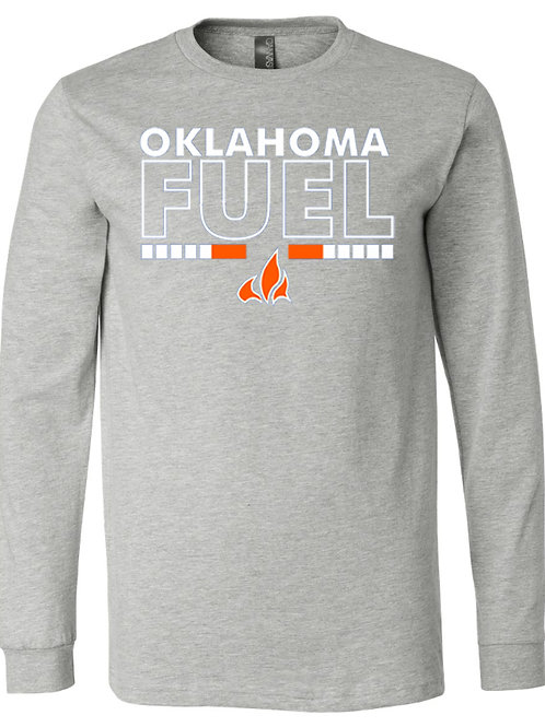 5018. Fuel Flame - Bella Triblend - Long Sleeve - 2-Colors Available