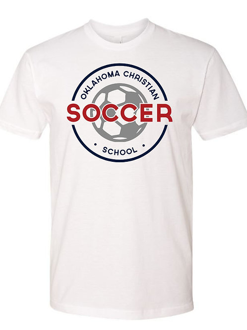 2200. OCS Soccer Circle SS - White