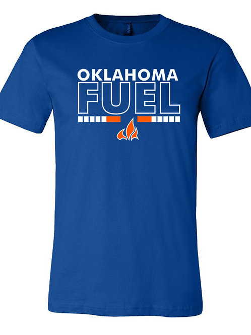 5017. Fuel Flame - Bella Triblend - Short Sleeve - 3-Colors Available