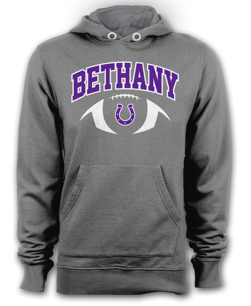 Bethany Colts Gray Hoodie