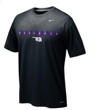 Bethany Baseball Nike Ledgend Short Sleeve