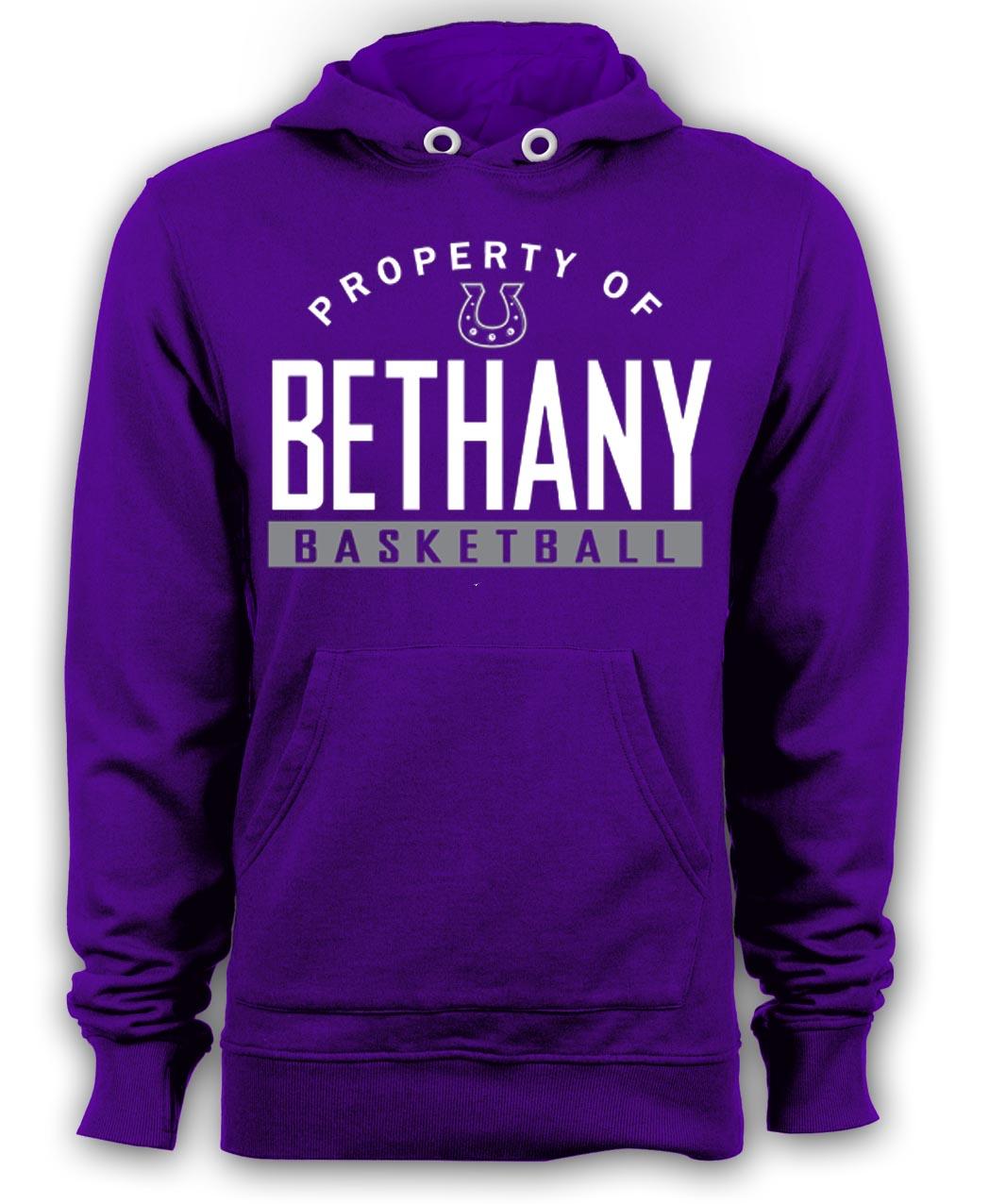 Beth Basketball Hoodie-Purple