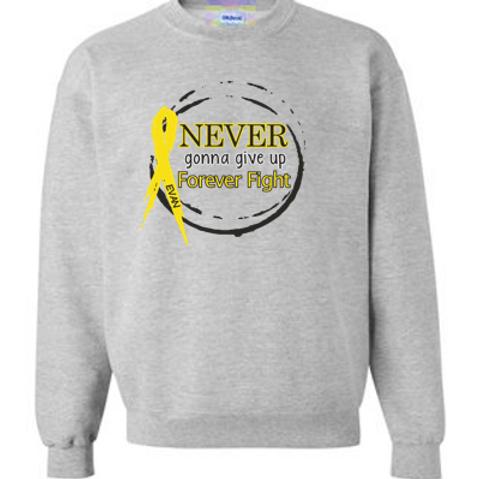 285-E. Duncan-Crew Sweatshirt-Heather Grey
