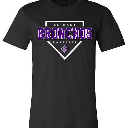 7025. BRonchos Plate - Cotton Short Sleeve