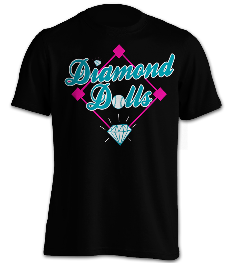 Diamond Dolls Black T