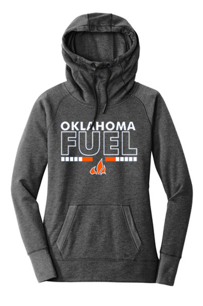 5019. - Ladies Fuel Flame - New Era Hoodie - 3 Colors Available