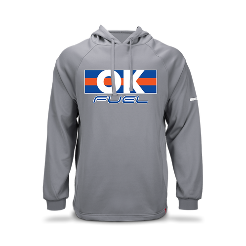 5037. OK Fuel Stripes - Marucci Technical Hoodie - 3 -Colors Available