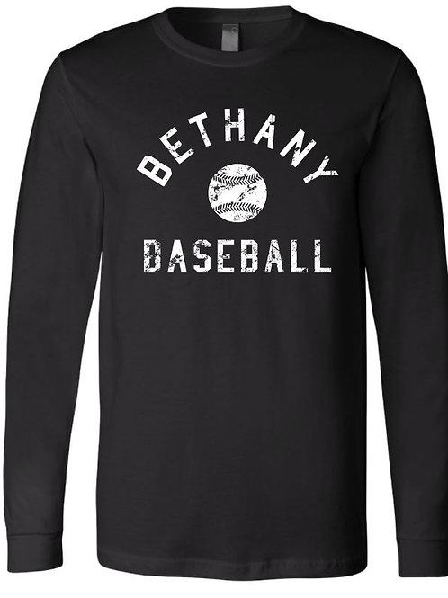 7028.  Vitage Bethany Baseball - Cotton Long Sleeve
