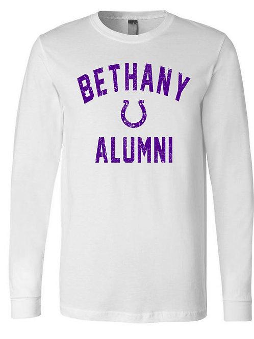 6009 - Bethany Alumni - Long Sleeve - White