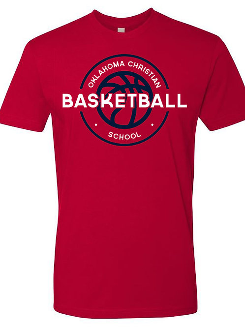 2102. OCS Basketball Circle SS - Red