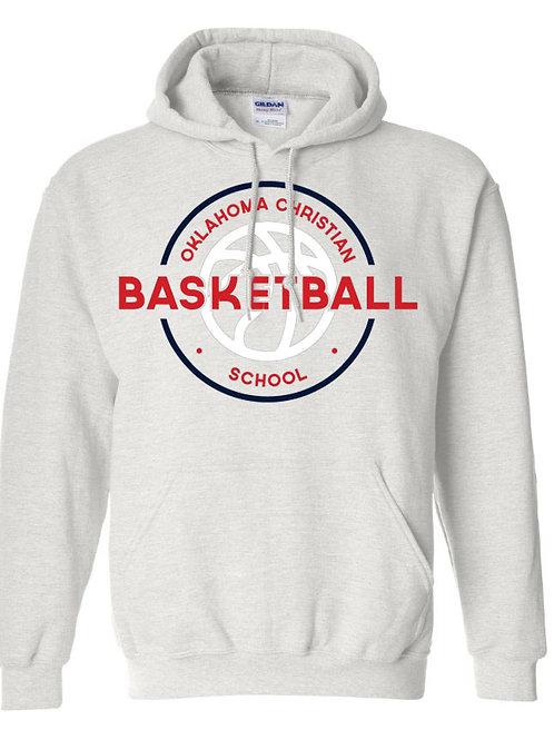 2105. OCS Basketball Circle Hoodie - Ash