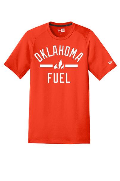 4517 - Oklahoma Fuel - New Era Short Sleeve Performance - 4 Colors Available