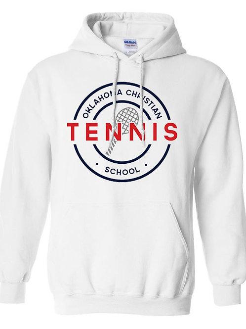 2304. OCS Tennis Circle Hoodie - White