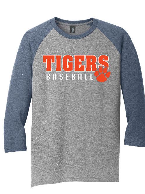 Tigers Baseball Raglan Tee