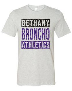 Bronchos Athletics Distressed MU