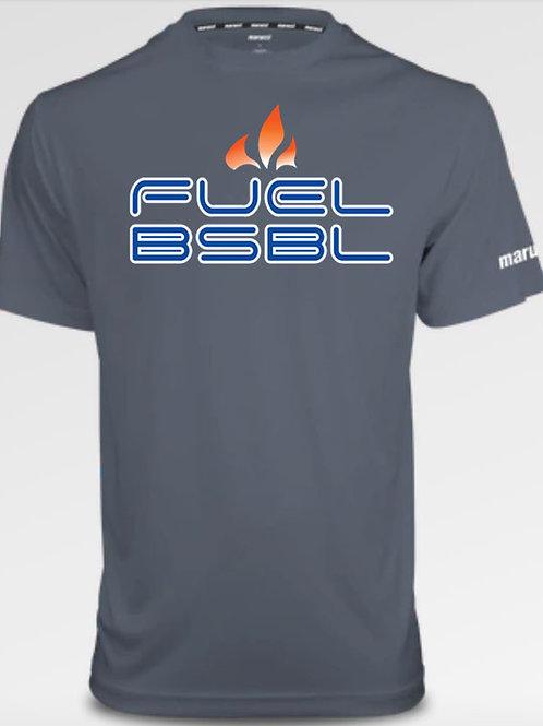 5023. Fuel BSBL - Youth Marucci Performance Tee - Short Sleeve