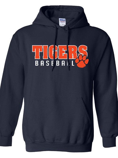 8U Tigers Baseball Hoodie