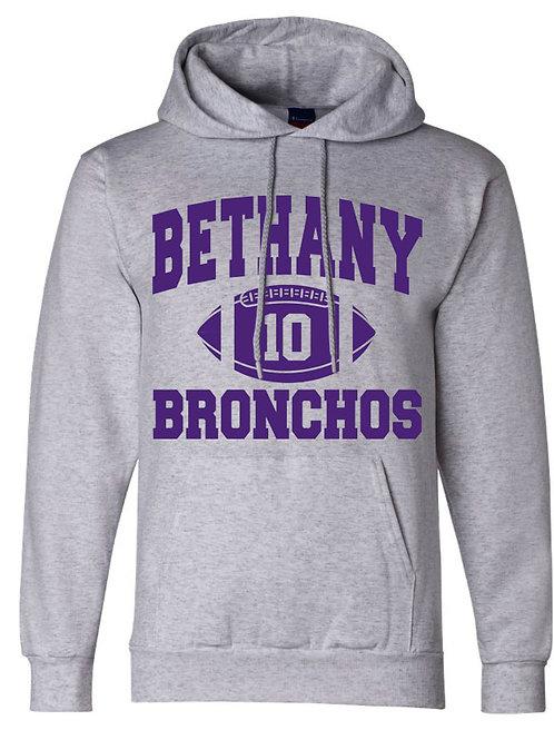 2000. Bethany Football Team Hoodie