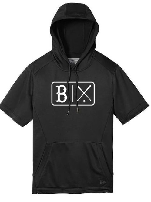 7015. B Bats - Short Sleeve Hoodie