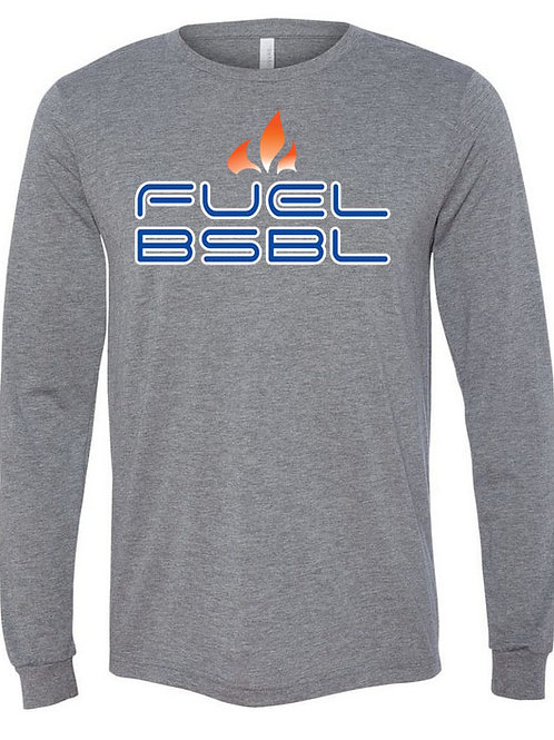 5029. Fuel BSBL - Bella Triblend - Long Sleeve - 3-Colors Available