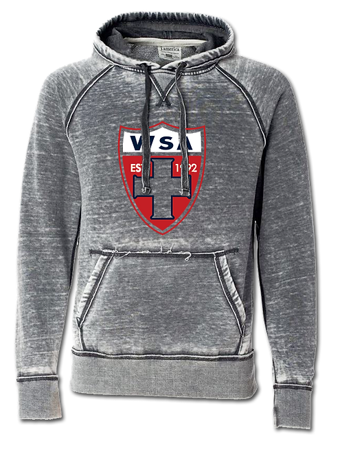 965-WSA-Shield-Cement Zen Hoodie