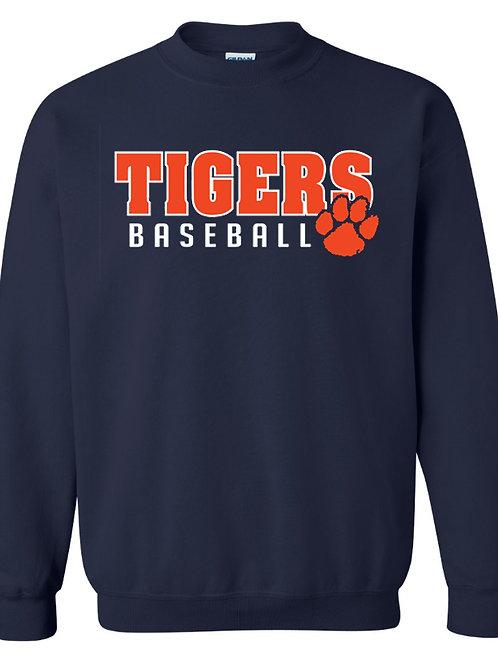 8U Tigers Crew Sweatshirt