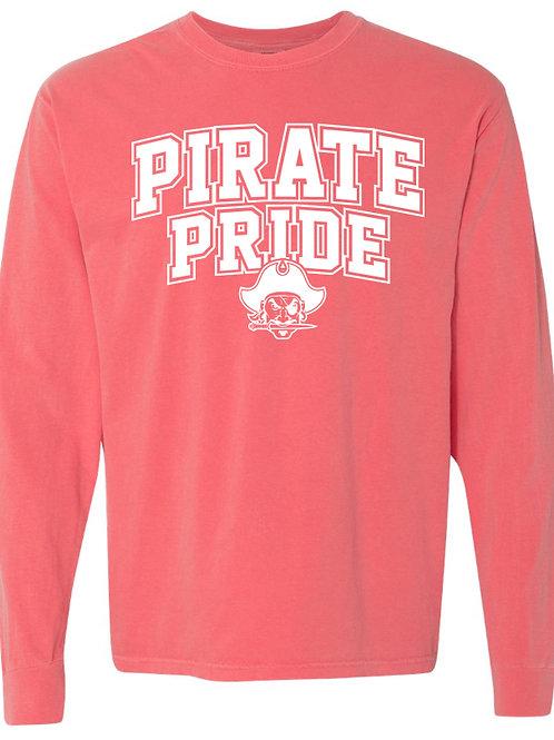1009. Pirate Pride - Comfort Colors - LS - Watermelon
