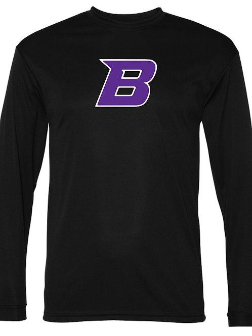 305. Bethany B Performance - Long Sleeve - Purple