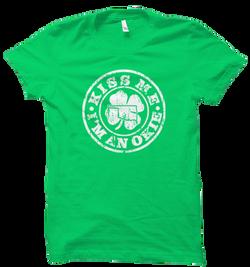 Kiss Me I'm an Okie - Green