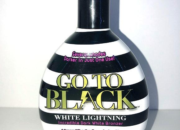Go To Black: White Lightening Bronzer Bottle