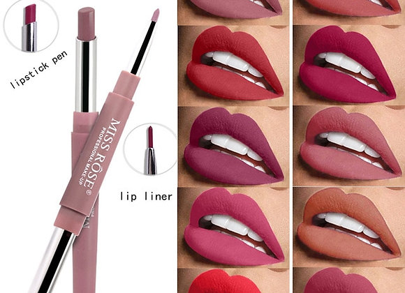 2 in 1 Lip Liner & Lipstick