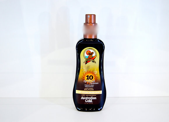 Australian Gold SPF Bronzer Spray Outdoor Protection