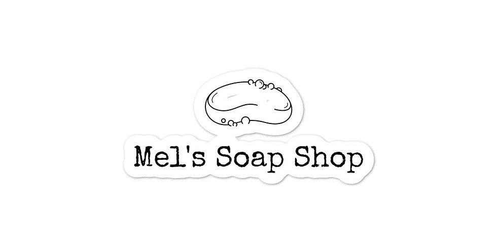 Mel's Soap Shop Stickers