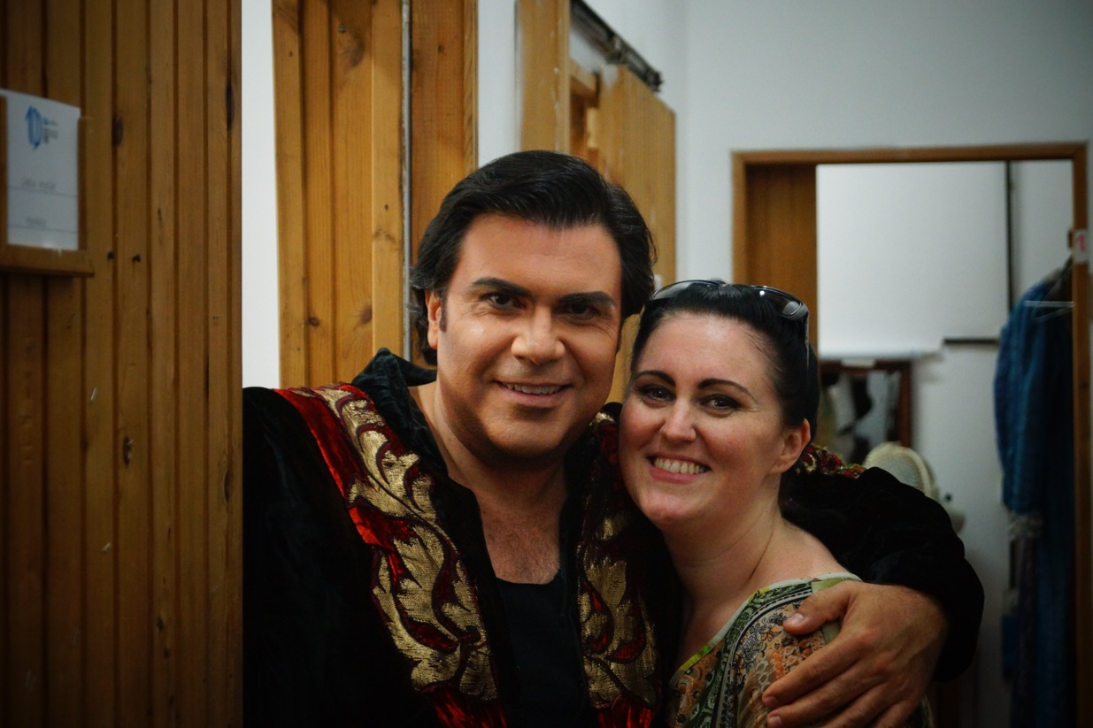 Avec Carlo Ventre
