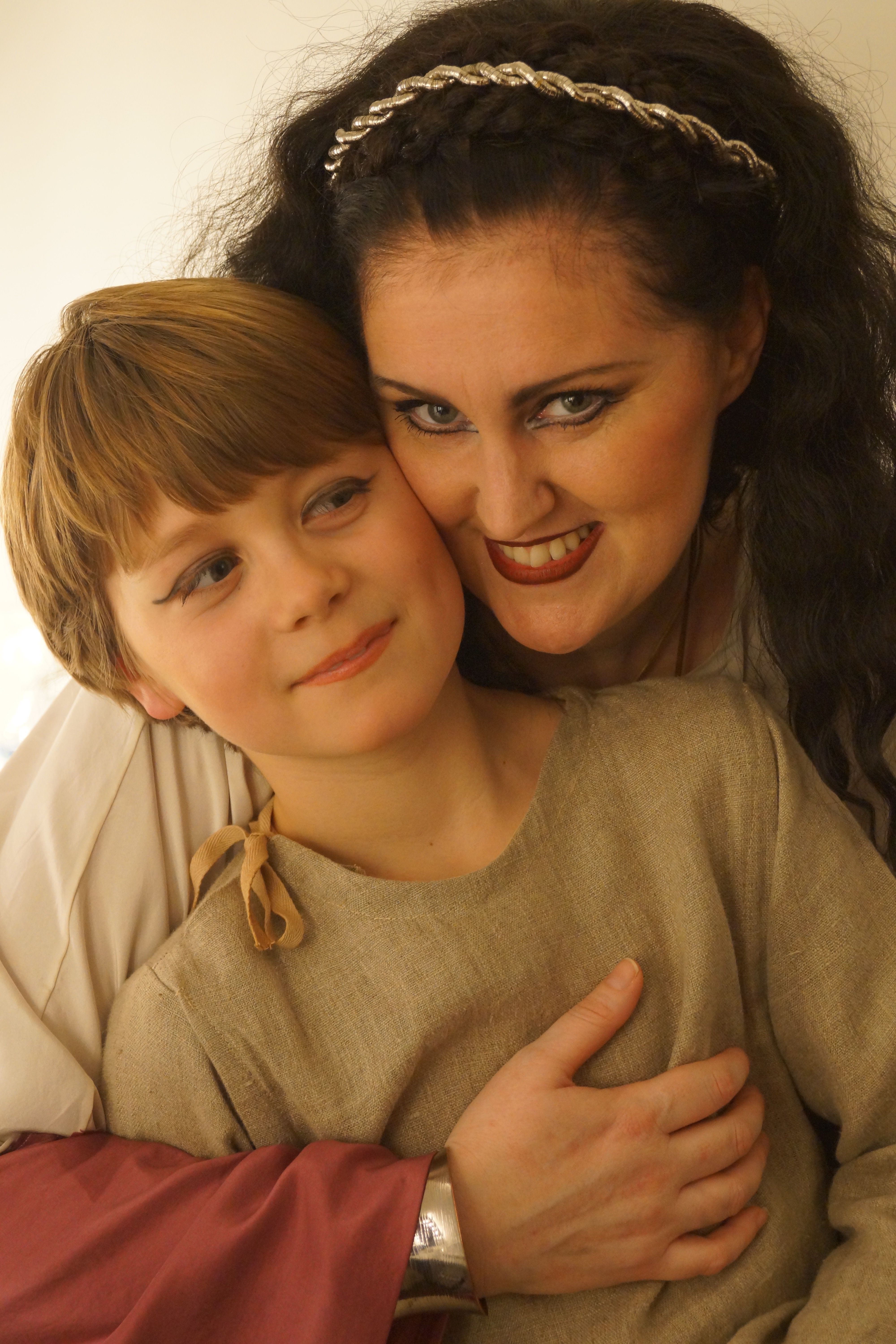 Mum and son Norma