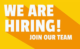 We Are Hiring. Join our team
