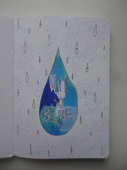 'why so blue'