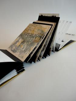 text accordion book