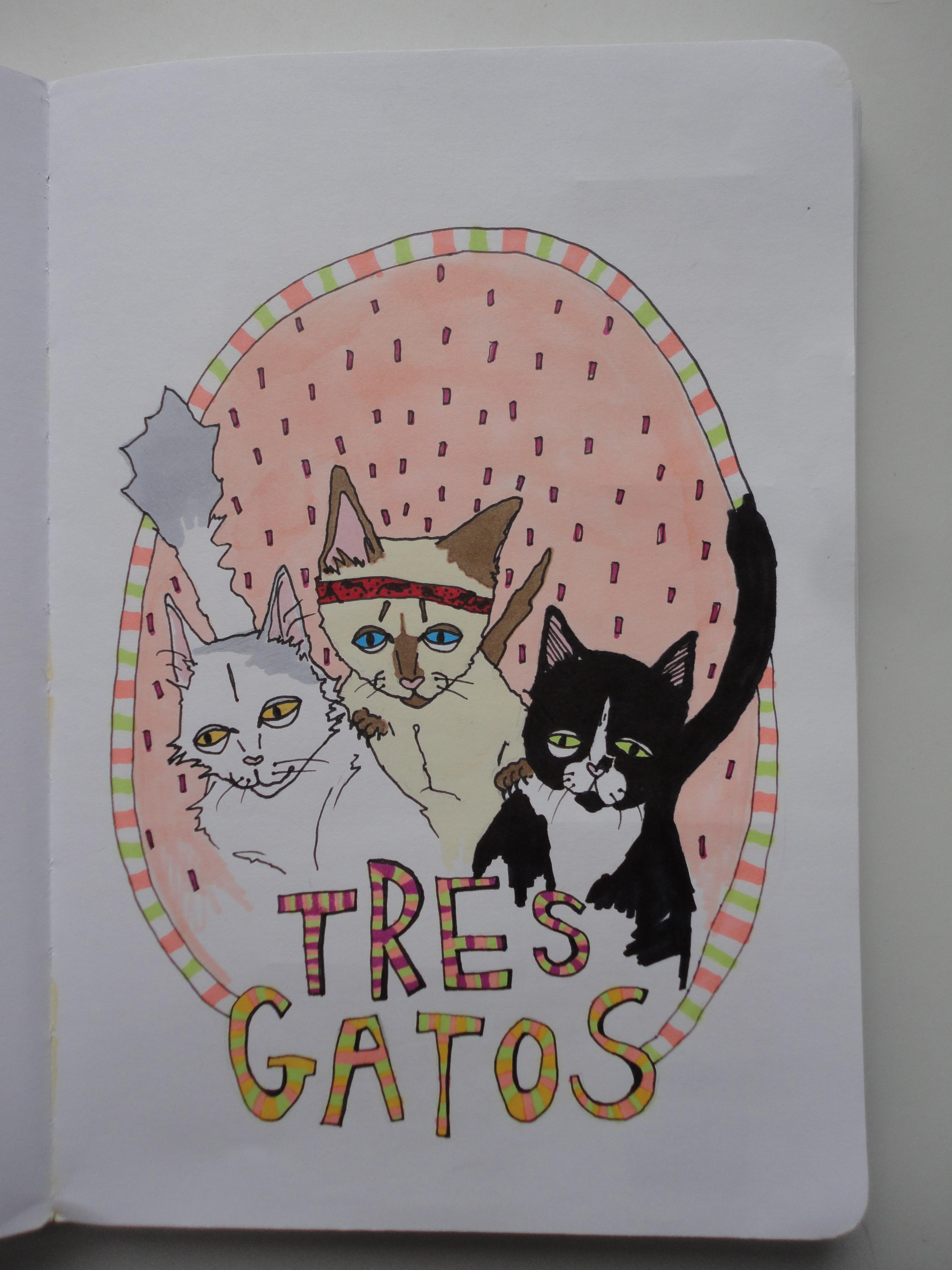 'tres gatos'