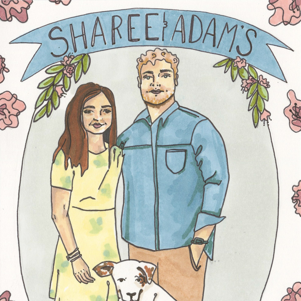 Sharee and Adam (front)