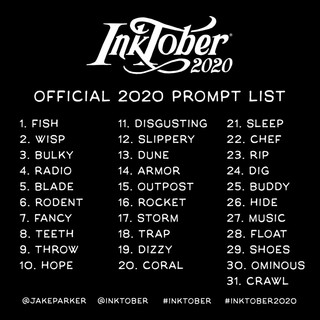 OFFICIAL 2020 PROMPT LIST