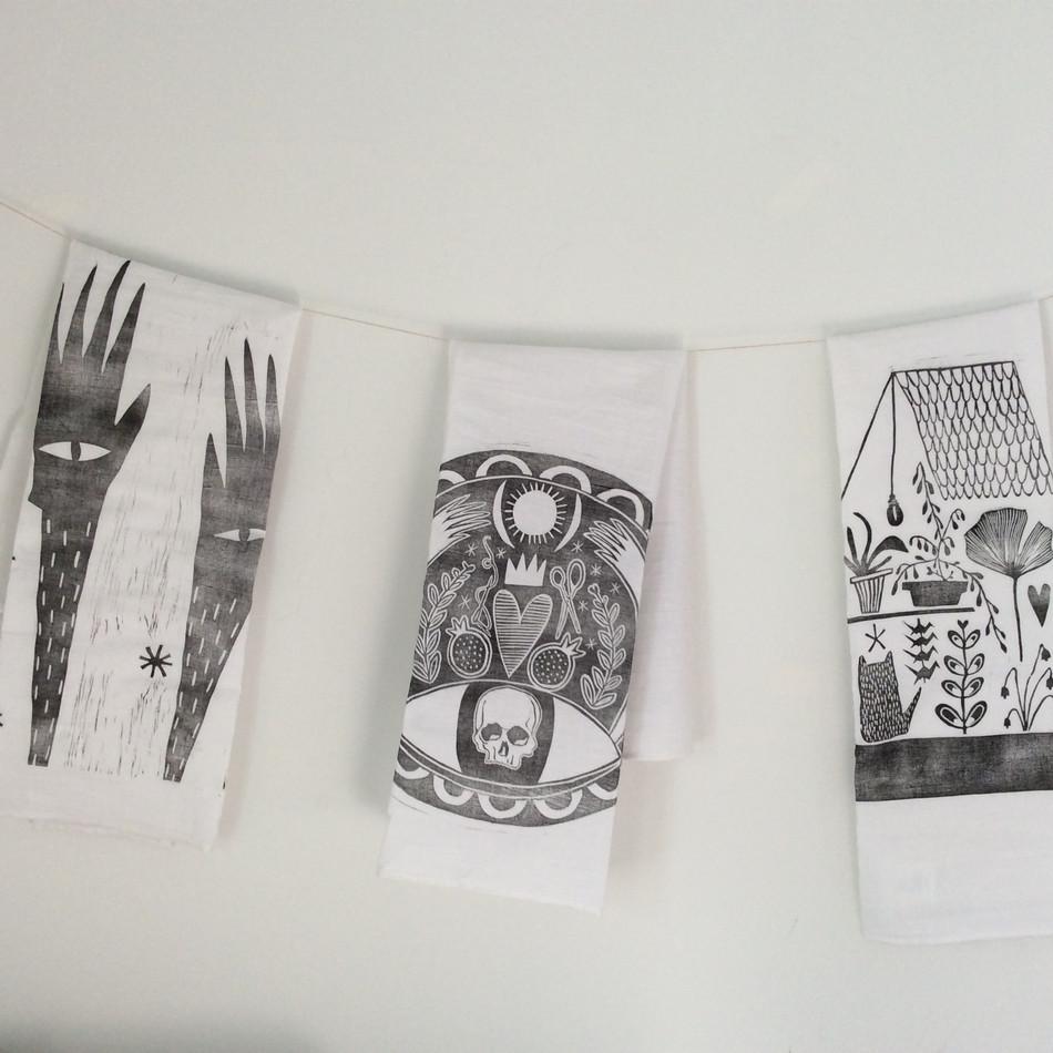 custom tea-towels